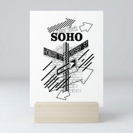 SoHo, New York Mini Art Print