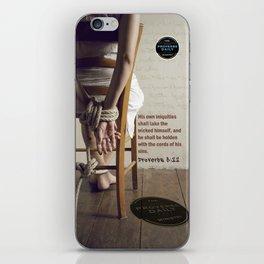 Proverbs 5:22 iPhone Skin