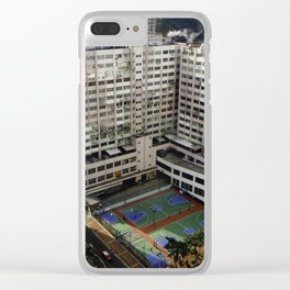 Outdoor Basketball Clear iPhone Case