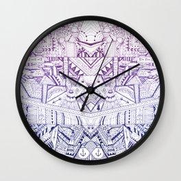 Organized Chaos Wall Clock