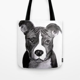 Pit Bull Dogs Lovers Tote Bag
