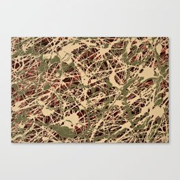 Web Drip Canvas Print