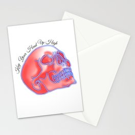Keep Your Head Up High Stationery Cards
