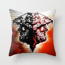 A Moment's Time Throw Pillow