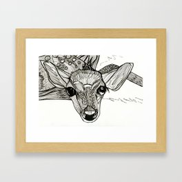 flight. Framed Art Print