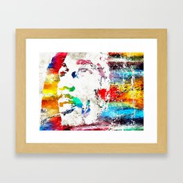 B. Marley Framed Art Print