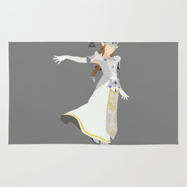 Princess Zelda(Smash)White Rug
