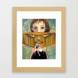 Secret identity Framed Art Print