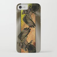 raven iPhone & iPod Cases featuring Raven by Alohalani