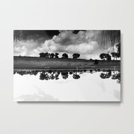 what is reflection? Metal Print