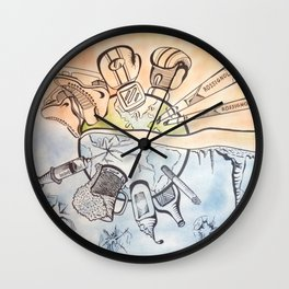 Active lifestyle Wall Clock