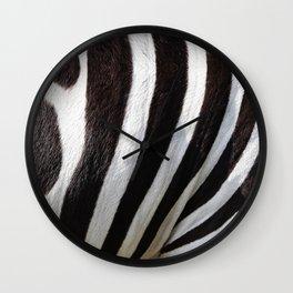 """Pop Safari 01 Zebra"" Wall Clock"