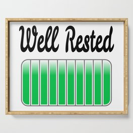 Well Rested Serving Tray