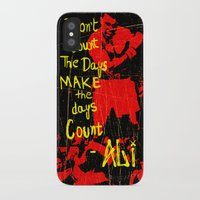 ali iPhone & iPod Cases featuring Ali by Maxim Garg