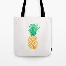 Watercolor Pineapple Tote Bag