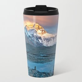 Sunset on Everest Travel Mug