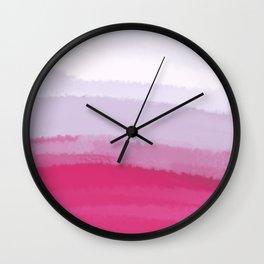 Sea - Line Clolor Pattern V4 Wall Clock