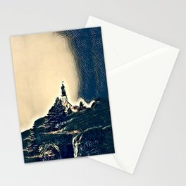 A Light In The Tempest Stationery Cards