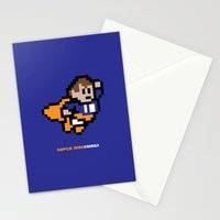 8-Bit: Super Man(ning) Stationery Cards