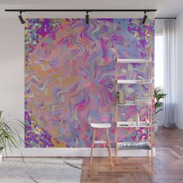 Electrified Crystal Ball Wall Mural