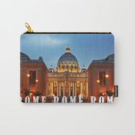 SAINT PETER'S CATHEDRALE in ROME Carry-All Pouch