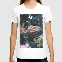 coral T-shirts featuring Coral by Casie Tanksley