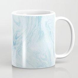Light blue painting marble Coffee Mug