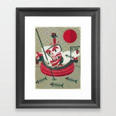 Calaverita Framed Art Print