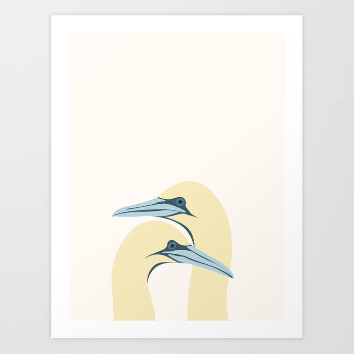 ÆGTEPAR Art Print