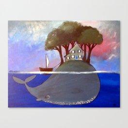 The Magic Island Canvas Print
