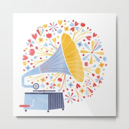 Sounds of Spring  Metal Print