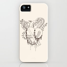 Find the key to my heart (chocolate) iPhone Case