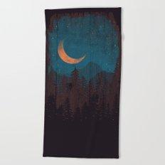 Those Summer Nights... Beach Towel