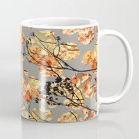 quilt Mugs featuring Dogwood Quilt by Olivia Joy StClaire