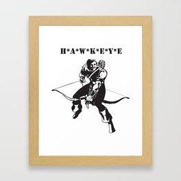Bow and Arrow Mash Up Framed Art Print
