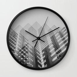 10 Broad Street, Columbus Ohio Wall Clock