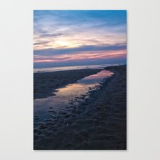 Breaking Through the ground Canvas Print