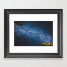 ocean of stars // Austria Framed Art Print
