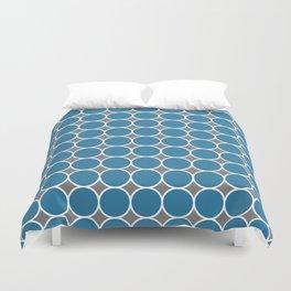 ponovan (blue) Duvet Cover