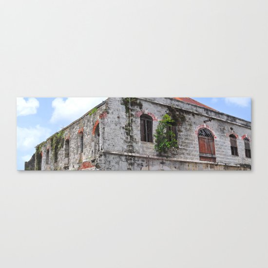 The Old Marketplace Canvas Print