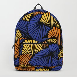 Happy abstract: Jungle Nr:03 Backpack