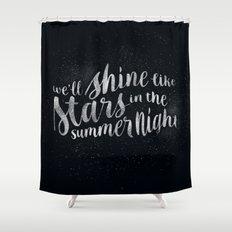 Shine Like Stars - Summer Shower Curtain