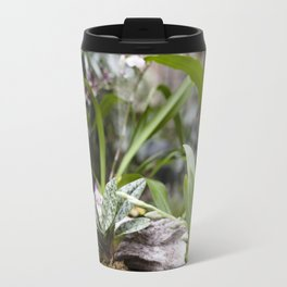 Dainty Orchid Travel Mug