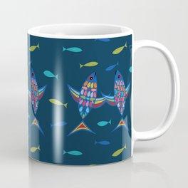 Dancing Fish Coffee Mug