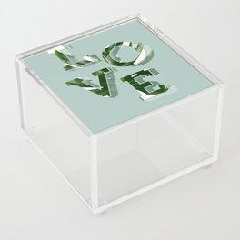 Love plants Acrylic Box