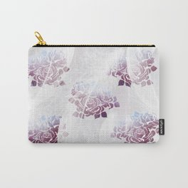 Feathers and Roses Carry-All Pouch