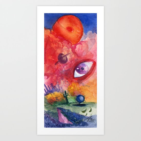 An Eye For the Surreal Art Print