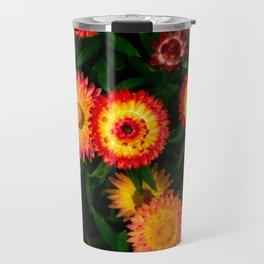 Plant Patterns - Flowery Fireworks Travel Mug