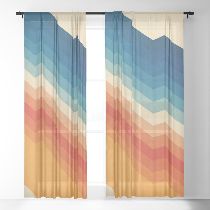 Barricade Sheer Curtain