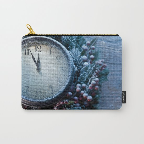 Winter wonderland frozen time Carry-All Pouch